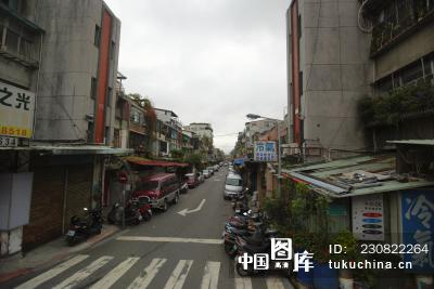 台北街道风景