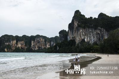 泰国甲米海岛沙滩风光