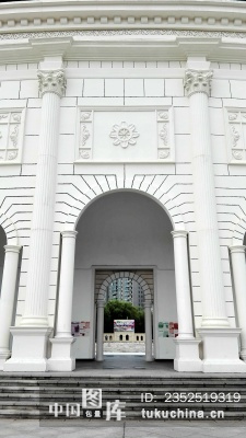 建筑类:白色欧式建筑