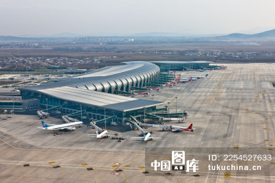风光类:沈阳桃仙机场