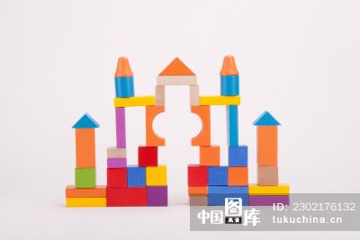 积木搭建城堡