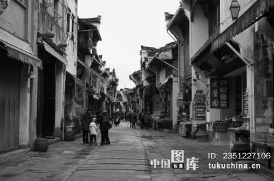街拍类 黄山街景图片